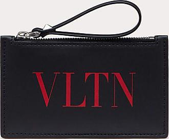 Valentino Garavani Valentino Garavani Uomo Portacarte Tascabile Vltn Uomo Nero/rouge Pur Bovine Leather 100% OneSize