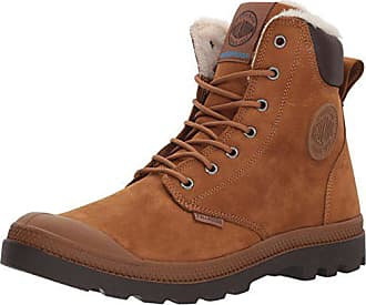 Palladium Mens Pampa Sport Cuff WPS Rain Boot Mahogany/Chocolate 6.5 M US