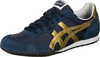 Onitsuka Tiger Serrano Shoes Navy/Gold