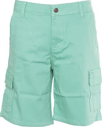 Noroze Noroze Womens Cotton Combat Cargo Chino Shorts, Mint, 18