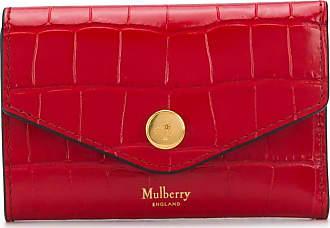 Mulberry Porta-cartões com gravação - Vermelho
