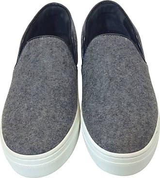 f86250633749 Celine Skate Slip On Grey Felt Sneakers