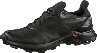 Salomon Supercross Trailrunning Schuhe Herren in black-black-black, Größe 41 1/3