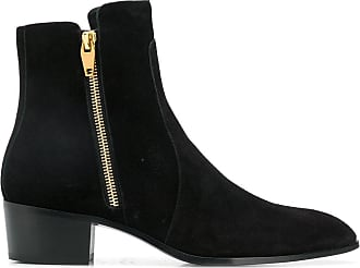 Balmain Ankle boot com detalhe de zíper - Preto