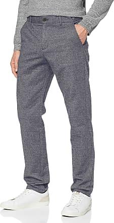 Selected Homme Mens 16073105 Trouser, Blue (Dark sapphiremix), W36/L32