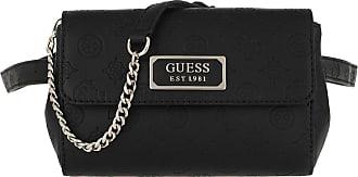 Guess Logo Lovey Crossbody Belt Bag Black