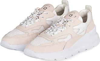 D.A.T.E. Sneaker FUGA - CREME/ WEISS