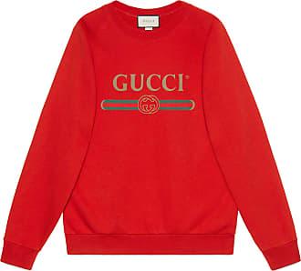 2edc0cd02 Gucci Sudadera Extragrande Parches Lentejuelas