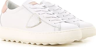 Philippe Model Sneaker für Damen, Tennisschuh, Turnschuh Günstig im Outlet Sale, Weiss, Leder, 2019, 36 37 38 40