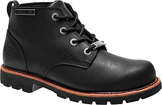 71f43c053117 Harley-Davidson Mens Broxton 4.5-Inch Leather Chukka Boots D93485 (Black