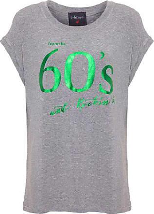 J. Chermann T-shirt Consuelo 60S Rock J. CHERMANN - Cinza