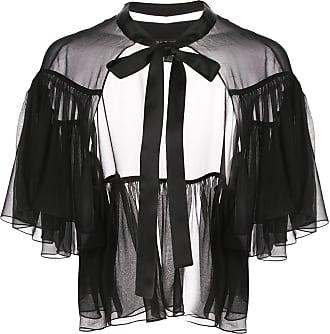 Kiki De Montparnasse classic cape - Black