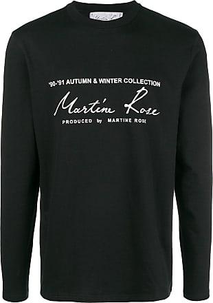 Martine Rose logo sweatshirt - Black