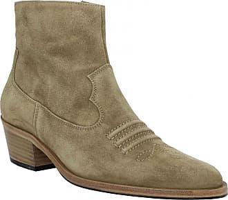 83d955b2d03908 Free Lance Bottines FREE LANCE Jane 5 West Zip Boot velours Femme Taupe