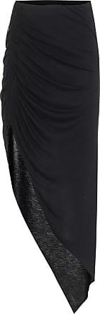 Helmut Lang High-rise jersey midi skirt
