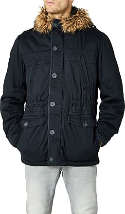 Brandit Mens Vintage Explorer Parka, Black (Black 2), XL