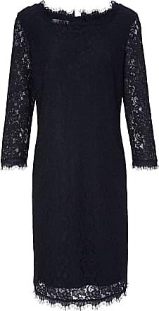 Kleid spitze langarm schwarz