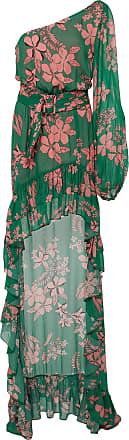Alexis Jules One-Shoulder Floral-Print Chiffon Dress