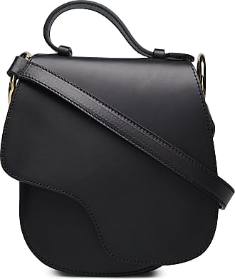 Carrara Black Crossbody Bag, svart