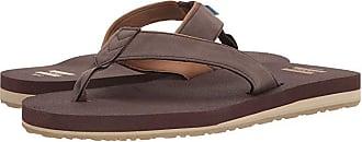 Toms Carilo Flip Flop (Chocolate Brown) Mens Sandals