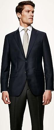 Hackett Mens Mayfair Slim Fit Wool Jacket   Size 38Regular   Midnight Blue