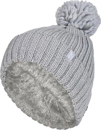 Heat Holders 1 Ladies Genuine Heatweaver Thermal Winter Warm HAT 5 Variations - Alesund, Nora, Solna, Areden, Lund (Light Grey - Arden)