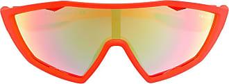 Prada Óculos de sol esportivo - Laranja