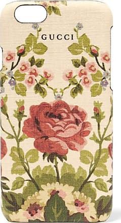 Gucci Adonis Floral-print Textured Iphone 6 Case - Antique rose