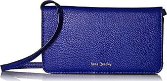 Vera Bradley Mallory Rfid All Together Crossbody - Leather, gage blue, One Size