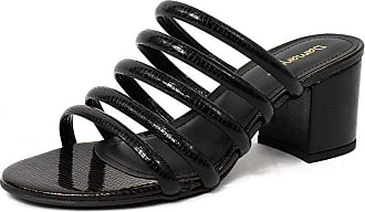 Damannu Shoes Tamanco Macau Stacy - Cor: Preto - Tamanho: 34