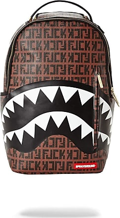 Sprayground Sprayground Offended Shark Backpack - Brown