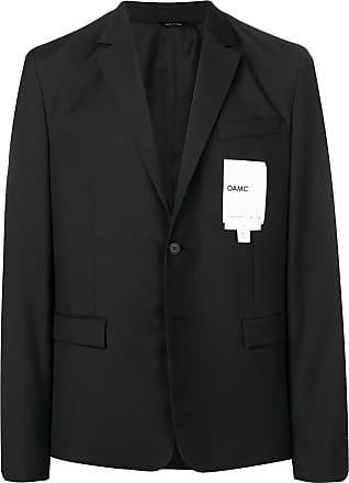 OAMC classic single-breasted blazer - Black