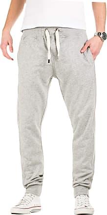 Yazubi Mens Trousers Bottoms Gym Tracksuit Running Edward Sweatpants Big and Tall Sports Pockets Light Silver Iron, Storm Gray (154003), XL