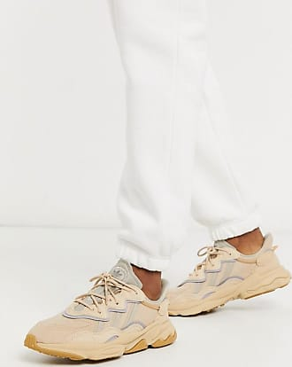 adidas Originals Ozweego - Kalkgraue Sneaker-Beige
