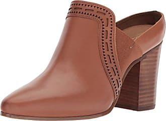 Aerosoles Womens Pocket Square Mule, tan Leather, 11 M US