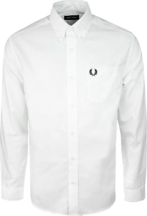 Fred Perry White Mens Oxford Shirt XL