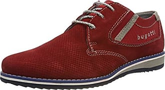 268cf69fb14e0b Bugatti 311684041400, Derbys Homme, Rouge (Red 3000), 43 EU