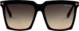 Tom Ford Eyewear Óculos de Sol Quadrado Preto - Mulher - Único US
