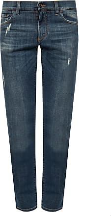 BLACK Stonewashed skinny jeans  Dolce & Gabbana  Jeans - Herreklær er billig