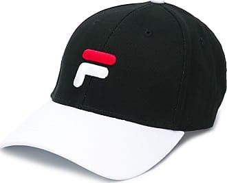 Fila Baseballkappe mit Logo-Stickerei - Schwarz