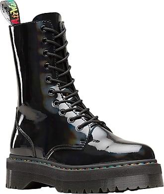 Dr. Martens Unisex Adults Jadon X Classic Boots, Black (Black Rainbow 001), 4 UK (37 EU)