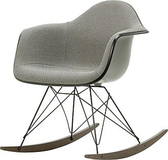 Vitra Eames Plastic Armchair RAR - Poltrona a Dondolo - Basalto