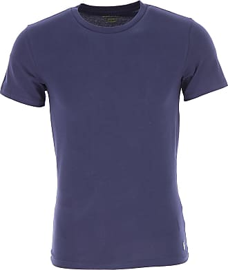 Ralph Lauren T-Shirt Uomo On Sale in Outlet, 2 Pack, Blu Navy, Cotone, 2019, L M XL
