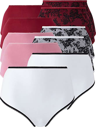 Womens Pretty Secrets Joanna 2 Pack Full Fit Briefs Simply Be