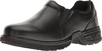 Propét Propet Mens Zane Work Shoe, Black, 11.5 M US