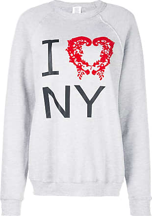 Rosie Assoulin Suéter I Love NY - Cinza