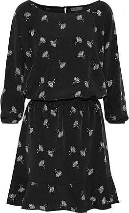 Joie Joie Woman Arryn B Printed Voile Mini Dress Black Size XS