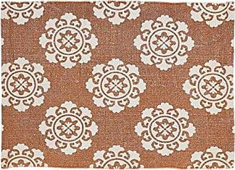 VHC Brands 27374 Ceylon Rug, 18 x 26, Sienna