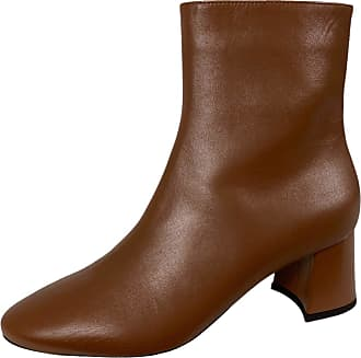 L'autre Chose F22 Donna Light Brown Leather Boots Woman [37.5]