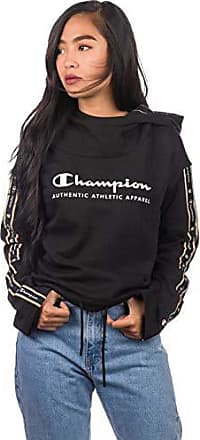 f2bcc7775b44e2 Champion Damen Kapuzenpullover Light Fall Fleece Hoodie